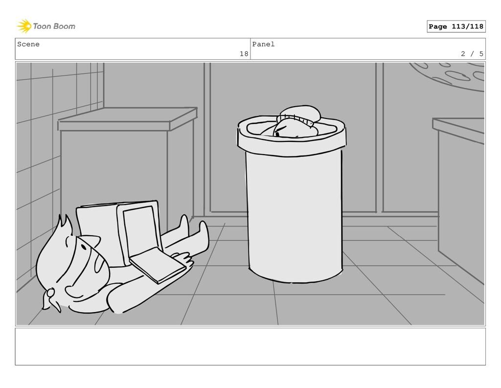 Scene 18 Panel 2 / 5 Page 113/118