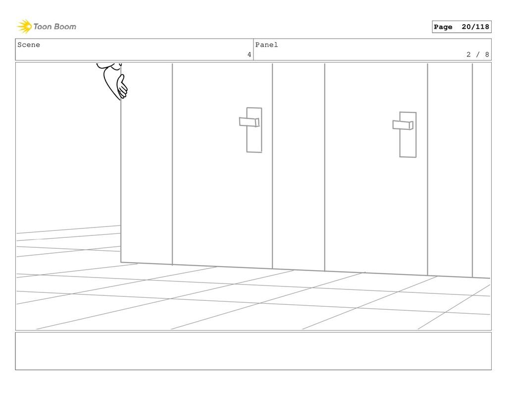 Scene 4 Panel 2 / 8 Page 20/118