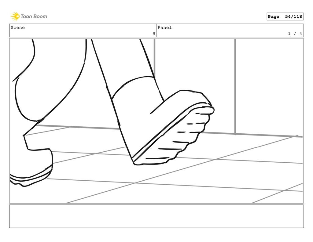 Scene 9 Panel 1 / 4 Page 54/118