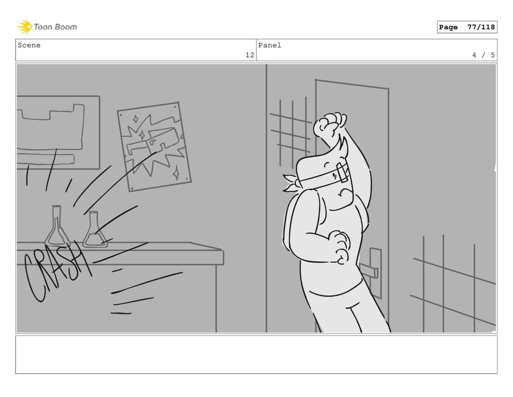 Scene 12 Panel 4 / 5 Page 77/118