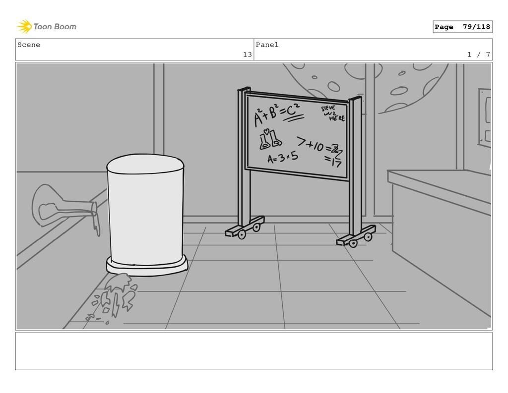 Scene 13 Panel 1 / 7 Page 79/118