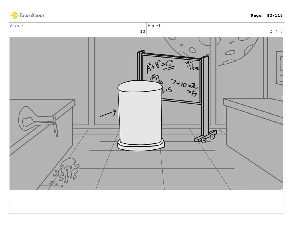 Scene 13 Panel 2 / 7 Page 80/118
