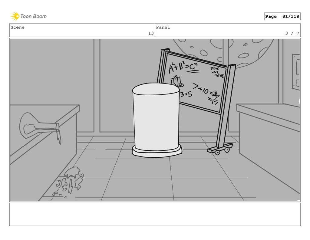 Scene 13 Panel 3 / 7 Page 81/118