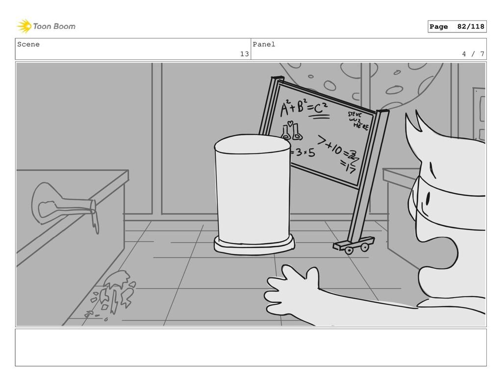Scene 13 Panel 4 / 7 Page 82/118