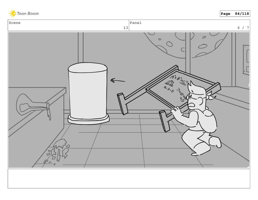 Scene 13 Panel 6 / 7 Page 84/118