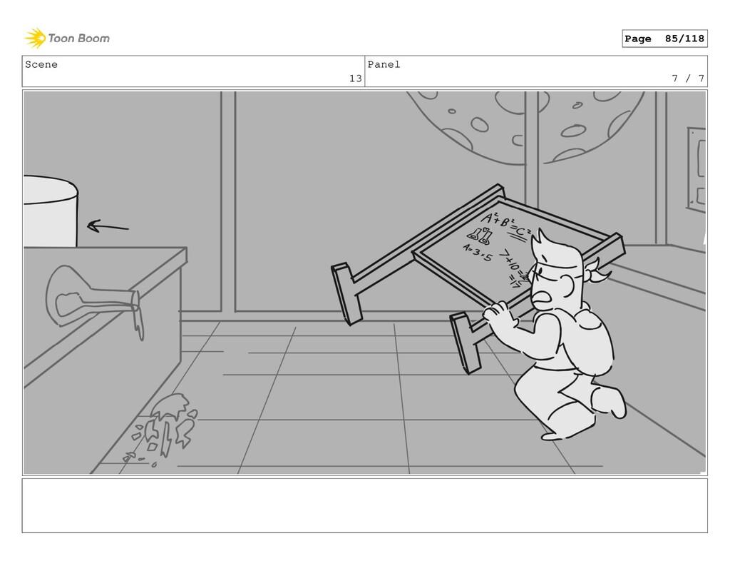 Scene 13 Panel 7 / 7 Page 85/118