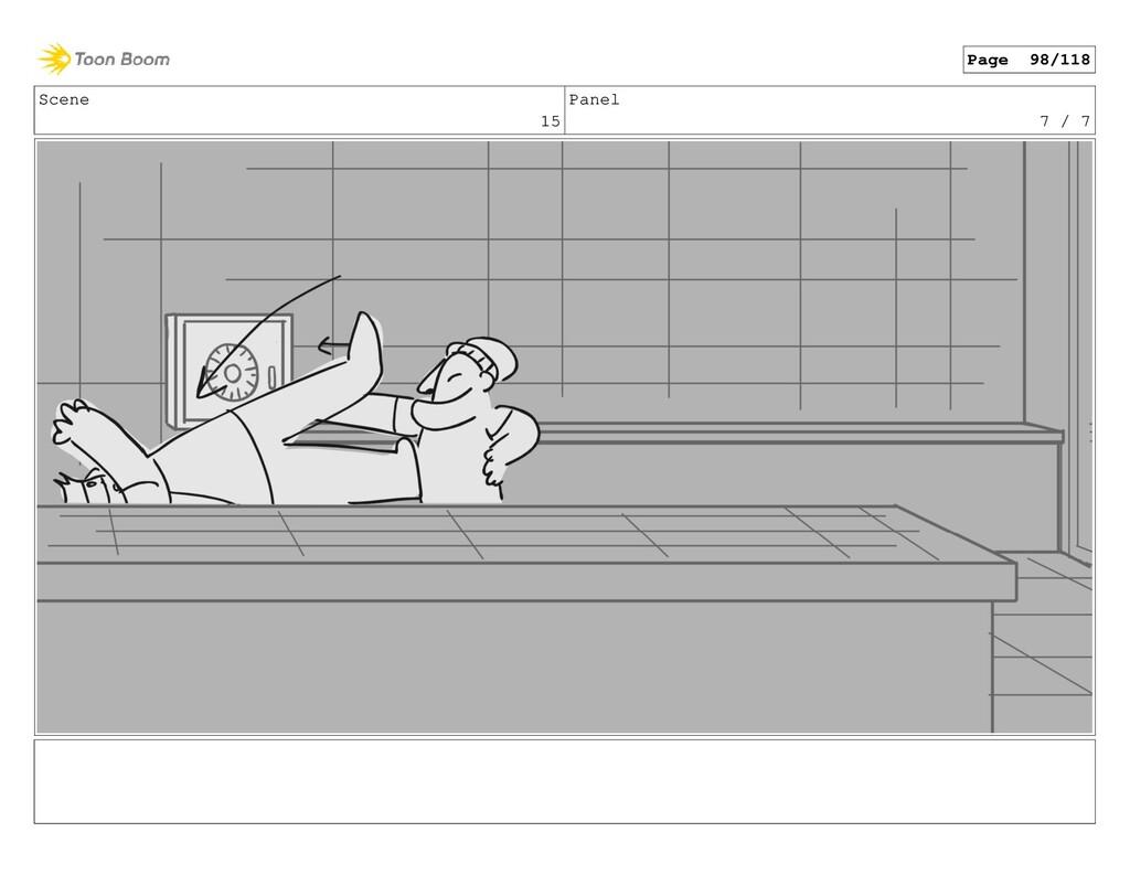 Scene 15 Panel 7 / 7 Page 98/118
