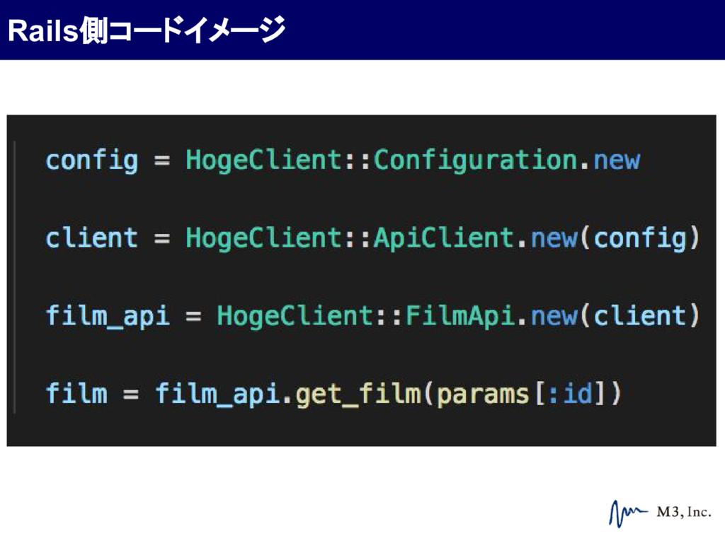 Rails側コードイメージ