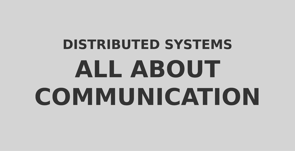 DISTRIBUTED SYSTEMS DISTRIBUTED SYSTEMS ALL ABO...