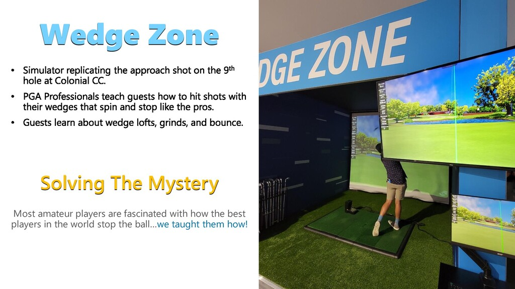 Solving The Mystery Wedge Zone Most amateur pla...