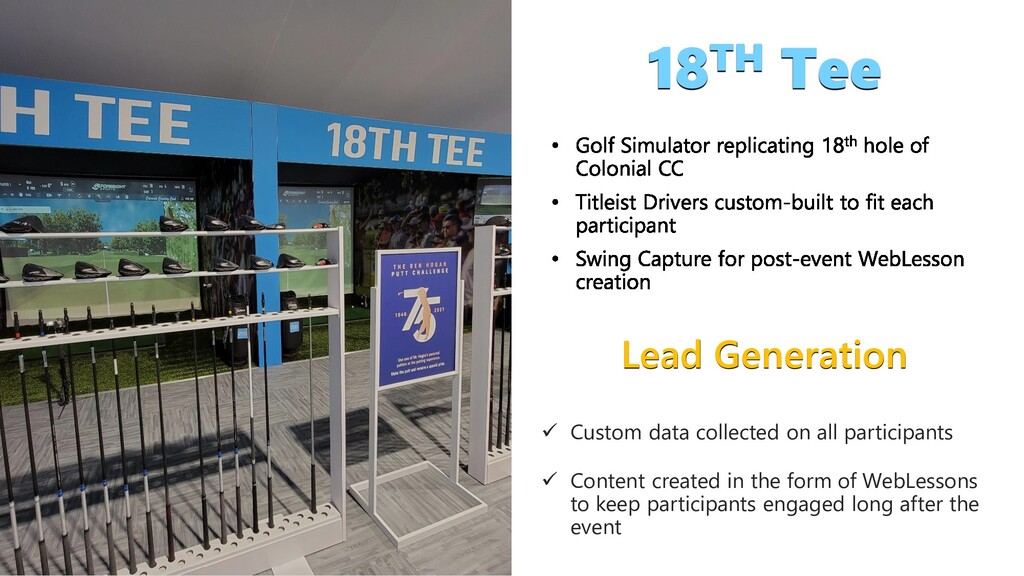 Lead Generation  Custom data collected on all ...