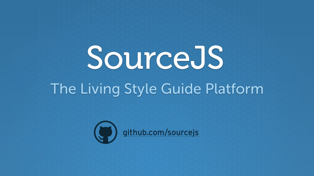 SourceJS The Living Style Guide Platform github...
