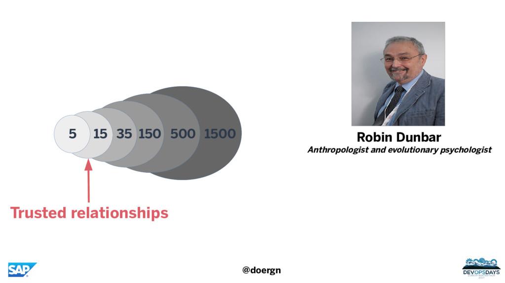 @doergn Robin Dunbar Anthropologist and evoluti...
