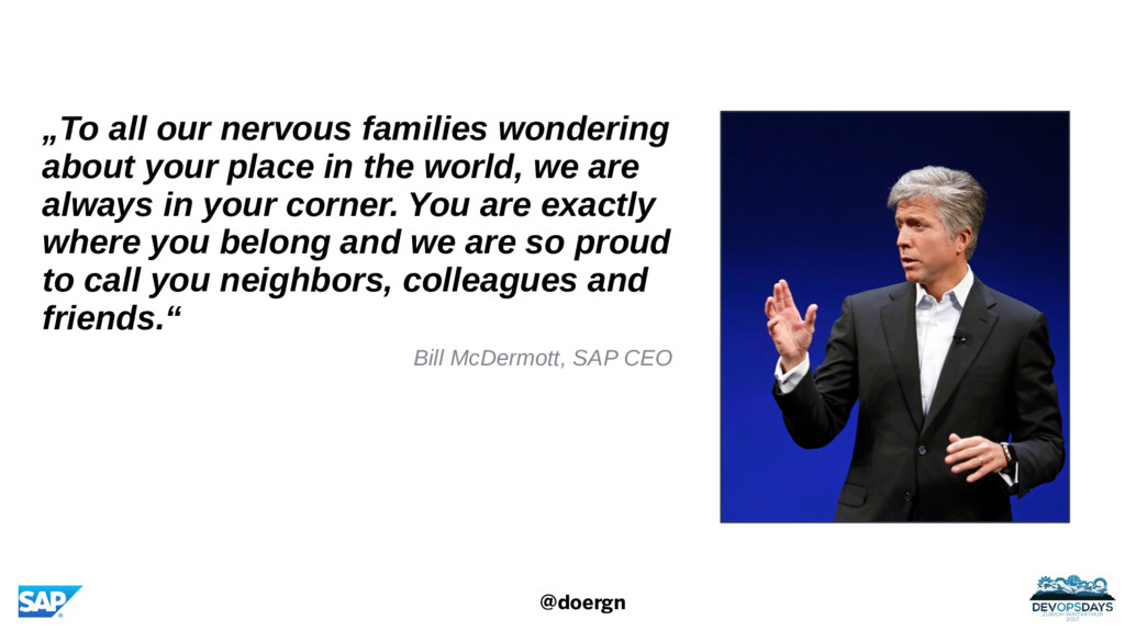 """@doergn """"To all our nervous families wondering ..."""