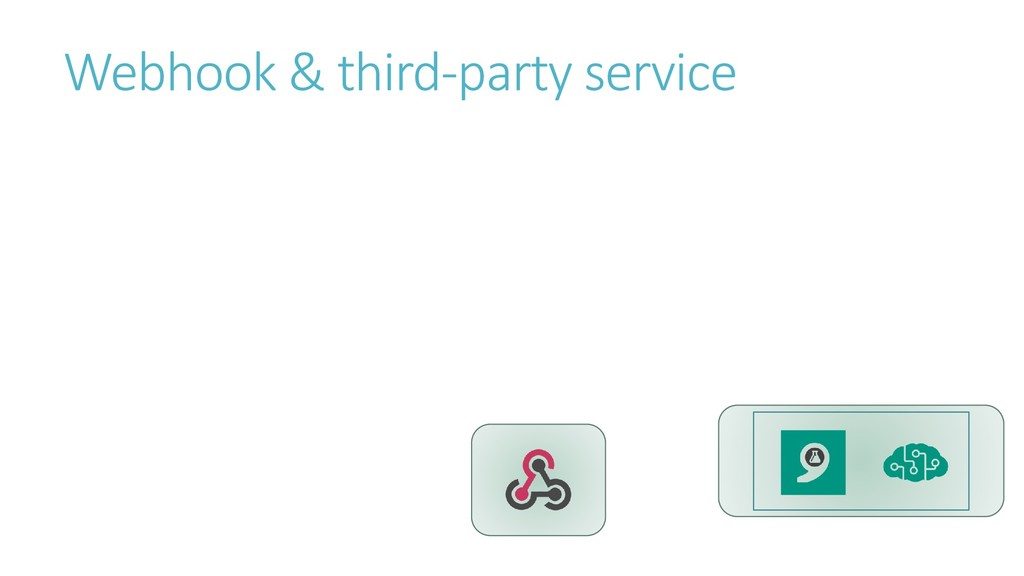 Webhook & third-party service