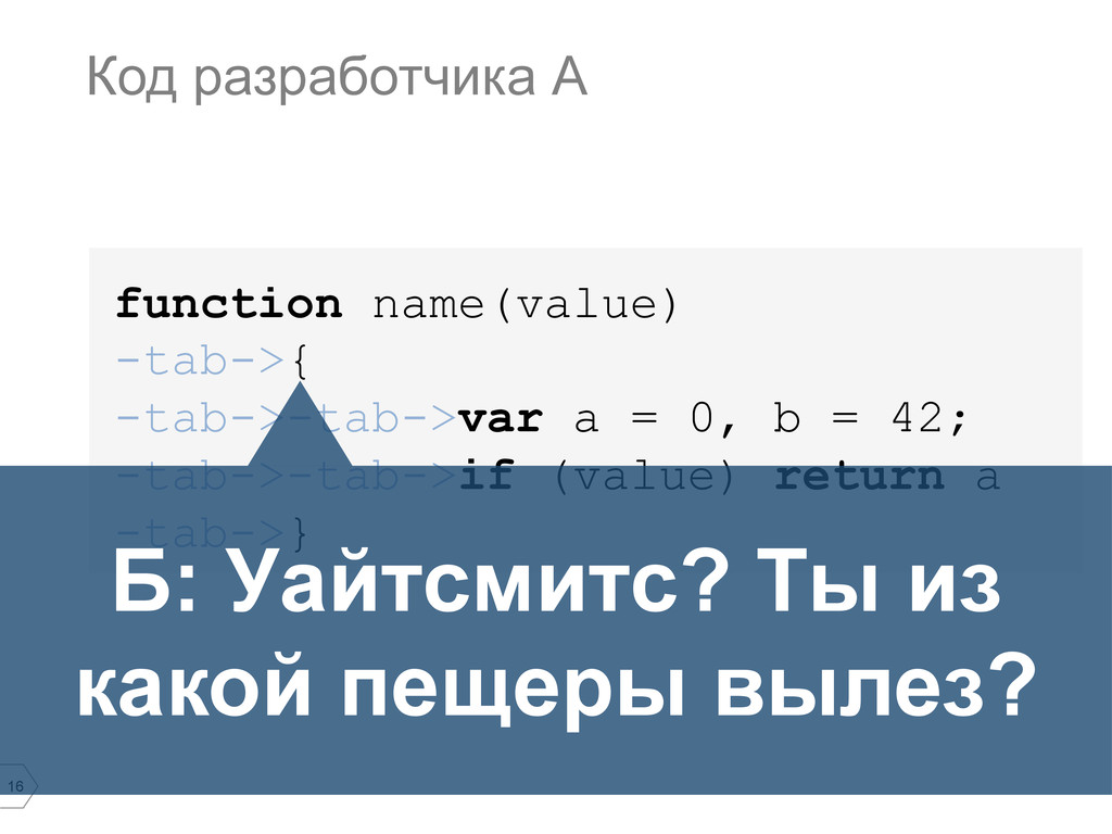 16 function name(value) -tab->{ -tab->-tab->var...