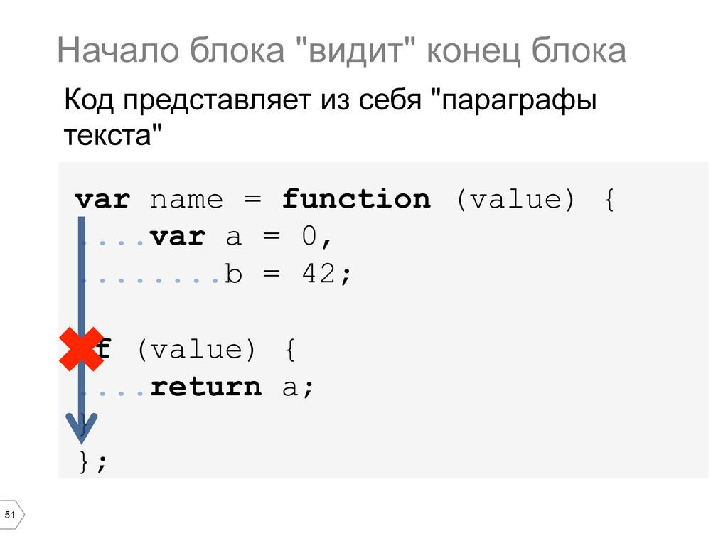 51 var name = function (value) { ....var a = 0,...
