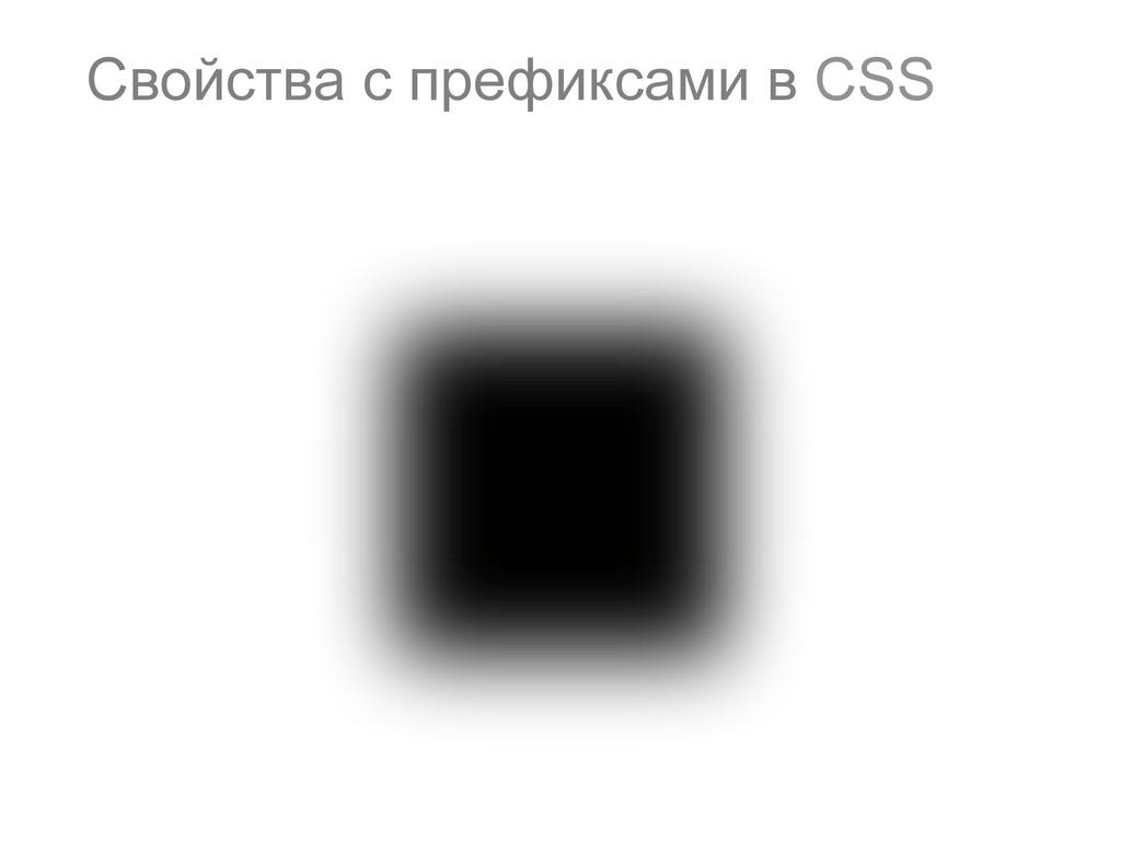 73 Свойства с префиксами в CSS
