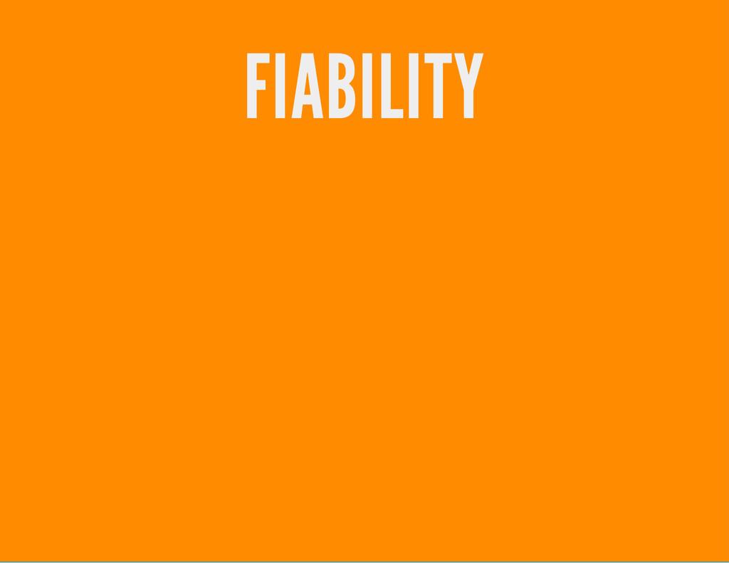 FIABILITY
