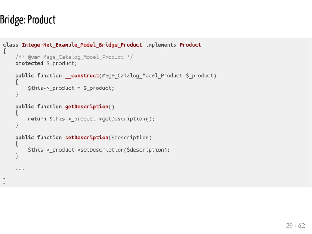 Bridge: Product class IntegerNet_Example_Model_...