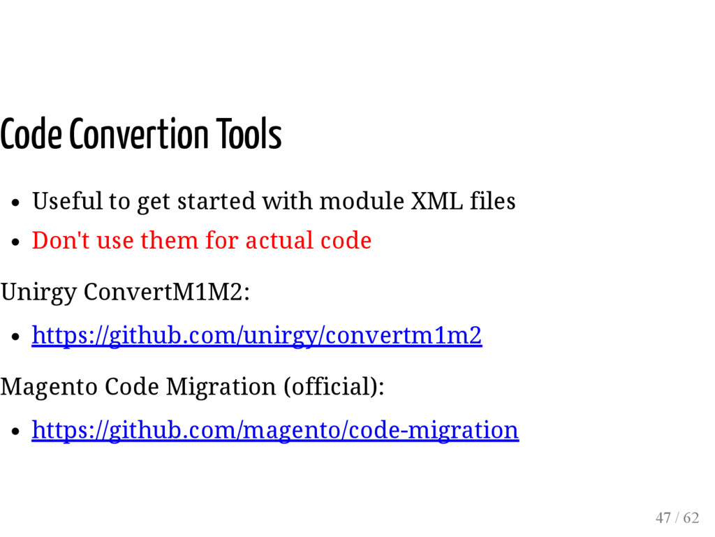 Code Convertion Tools Useful to get started wit...