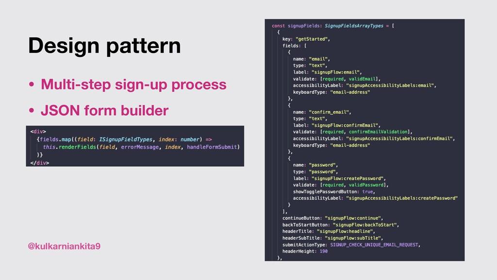 @kulkarniankita9 Design pattern • Multi-step si...