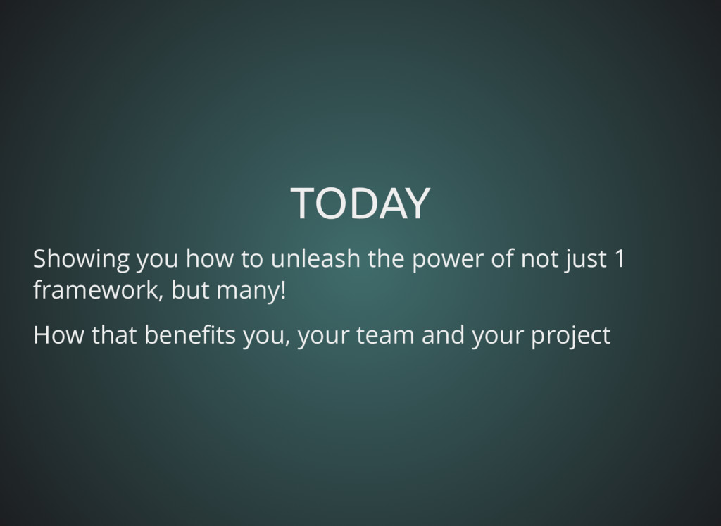 TODAY TODAY Showing you how to unleash the powe...