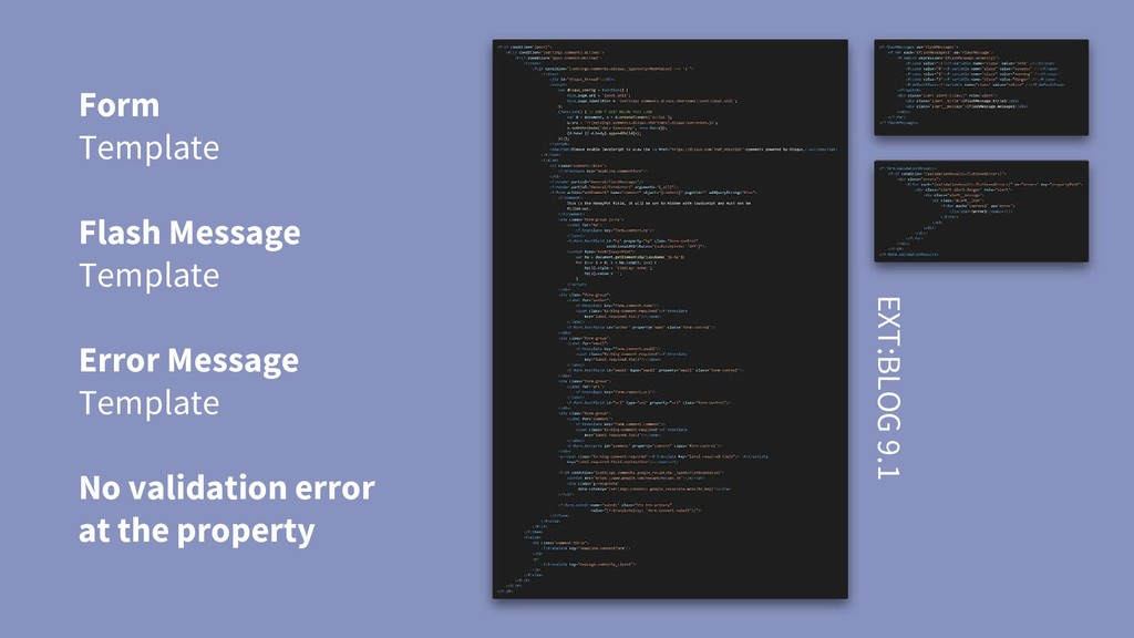Form Template Flash Message Template Error Mess...