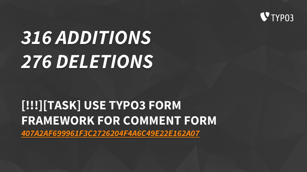 316 ADDITIONS 276 DELETIONS [!!!][TASK] USE TYP...