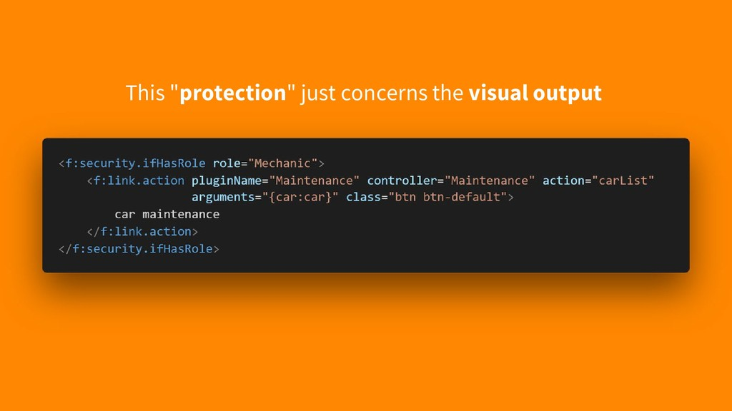 """This """"protection"""" just concerns the visual outp..."""