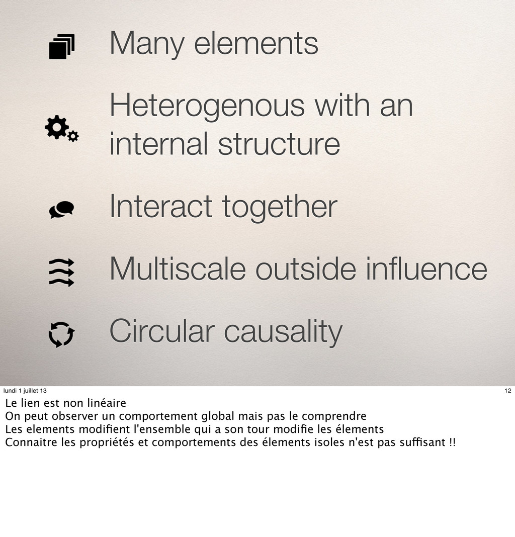 Many elements Heterogenous with an internal str...