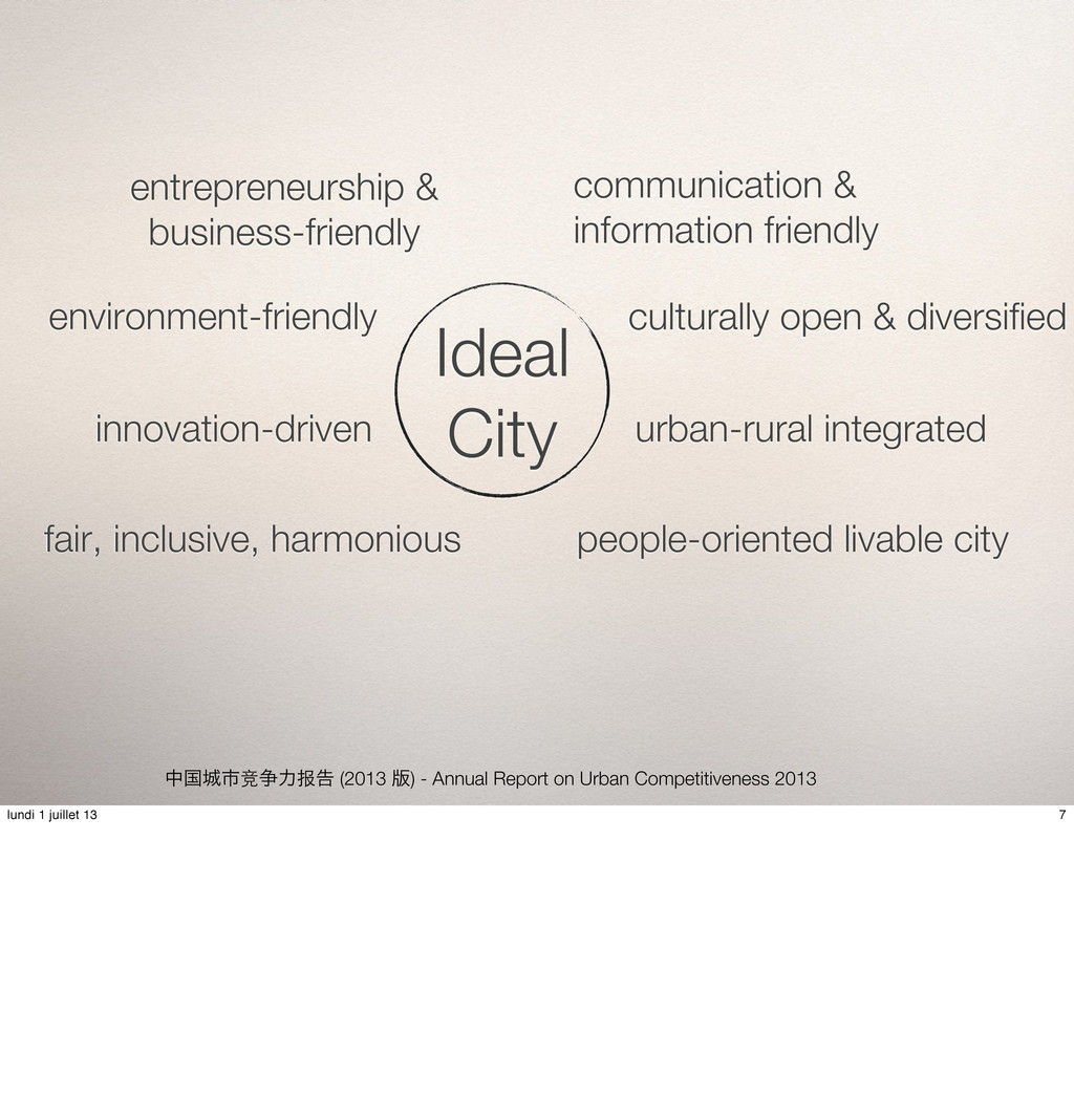 தࠃࢢ竞૪ྗ报ࠂ (2013 ൛) - Annual Report on Urban Com...