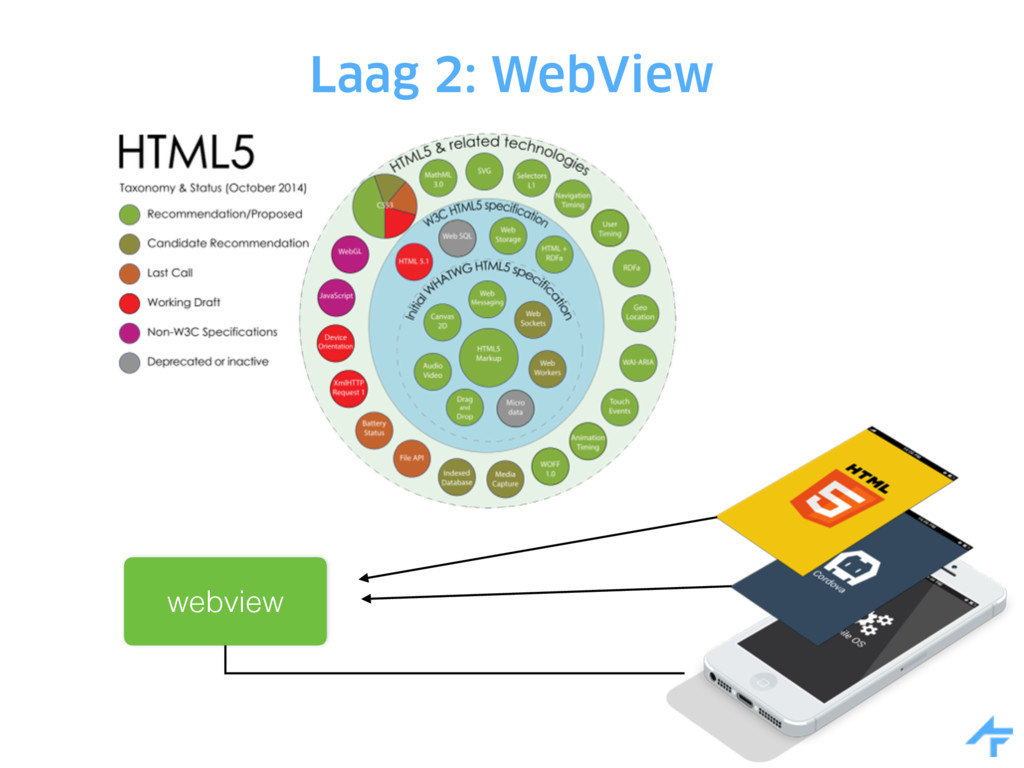 Laag 2: WebView webview