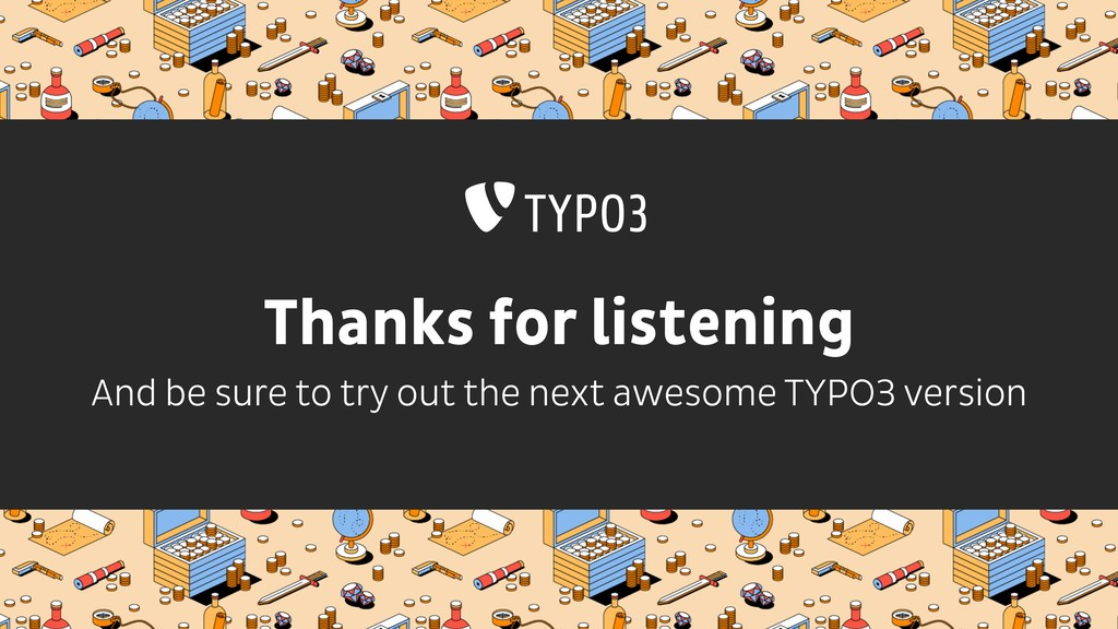 Thanks for listening And be sure to try out the...