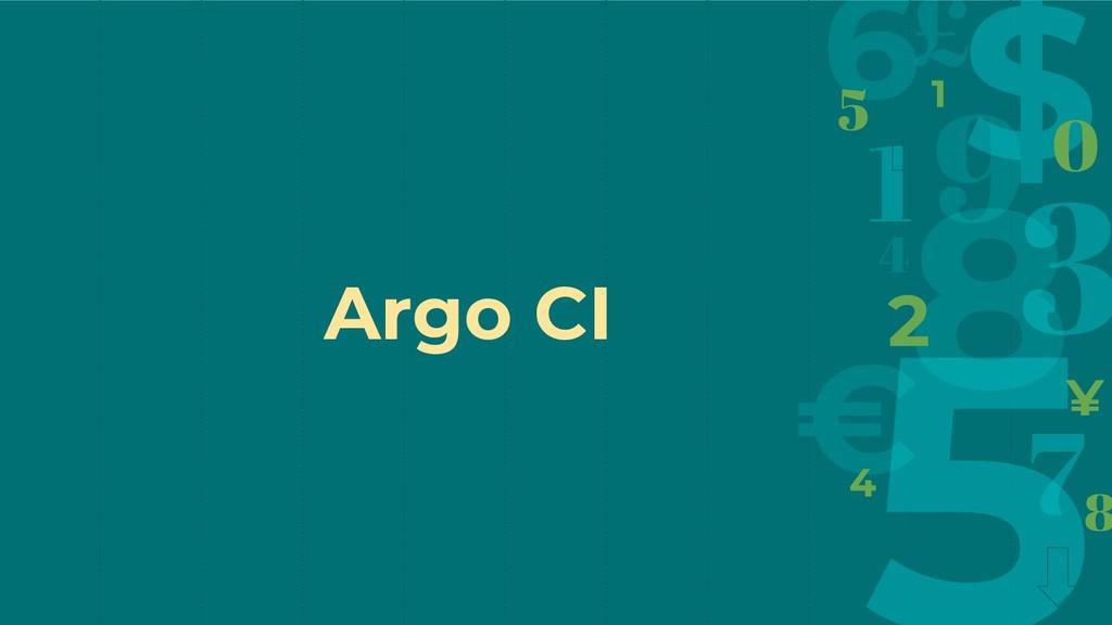 Argo CI