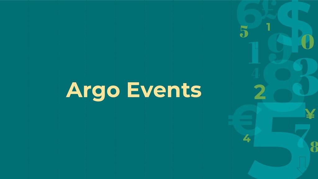 Argo Events
