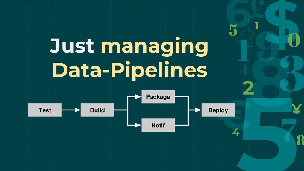 Just managing Data-Pipelines Build Test Package...