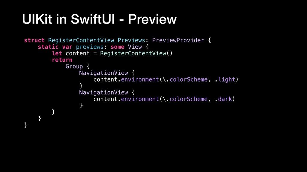 struct RegisterContentView_Previews: PreviewPro...