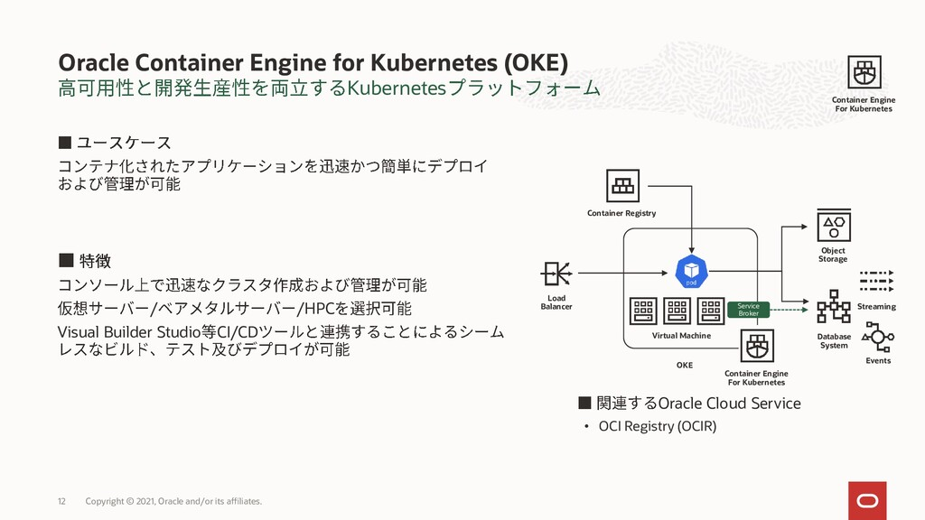 Kubernetes Oracle Container Engine for Kubernet...