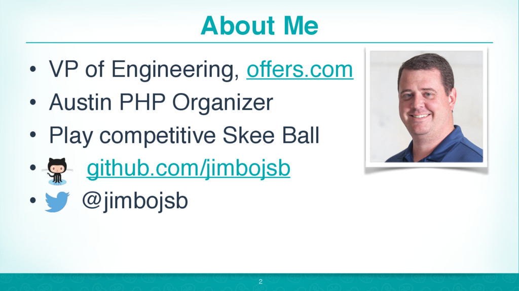 About Me • VP of Engineering, offers.com • Aust...