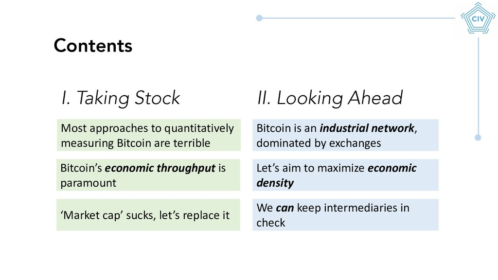 Most approaches to quantitatively measuring Bit...