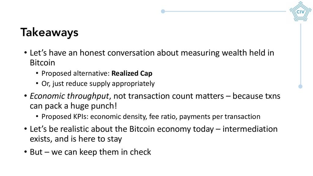 • Let's have an honest conversation about measu...