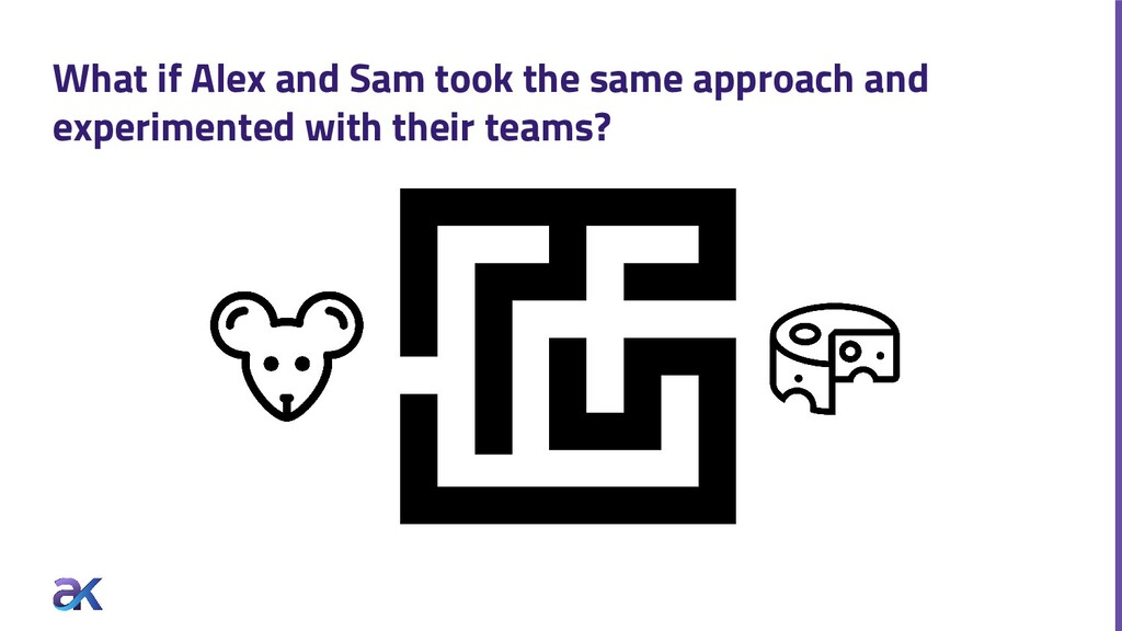 What if Alex and Sam took the same approach and...