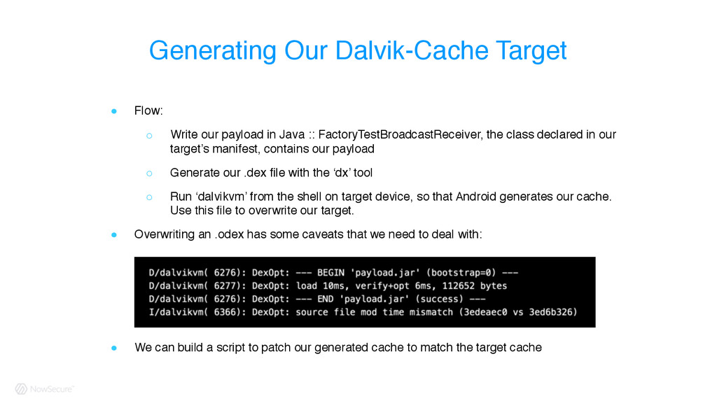 ! Flow: ○ Write our payload in Java :: FactoryT...