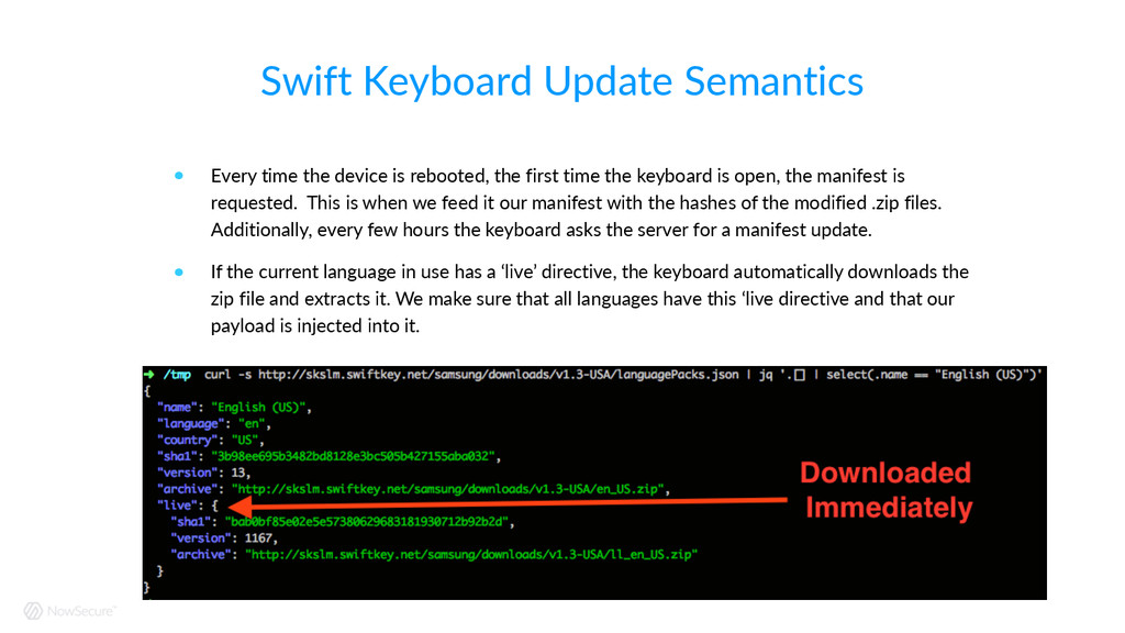 Swift Keyboard Update Semantics ! Every tim...