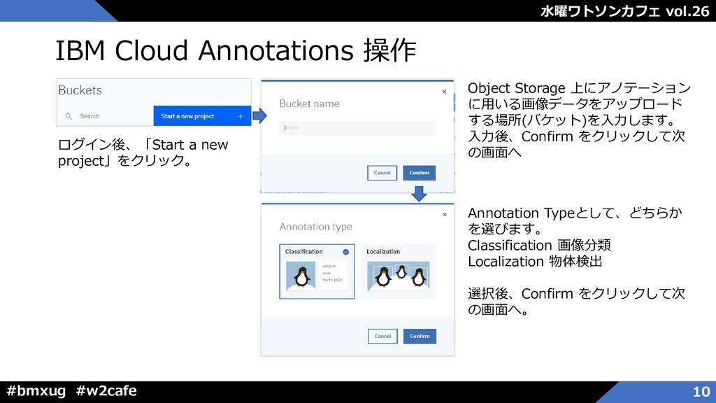 水曜ワトソンカフェ vol.26 #bmxug #w2cafe IBM Cloud Annot...
