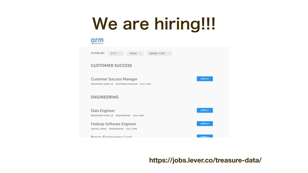 https://jobs.lever.co/treasure-data/ 8FBSFIJS...