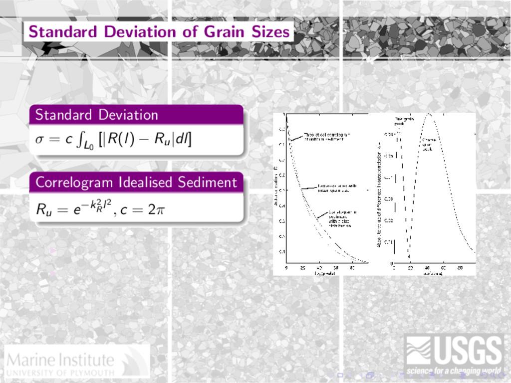 Standard Deviation of Grain Sizes Standard Devi...