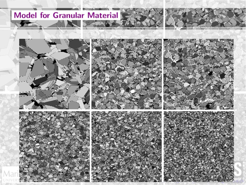 Model for Granular Material