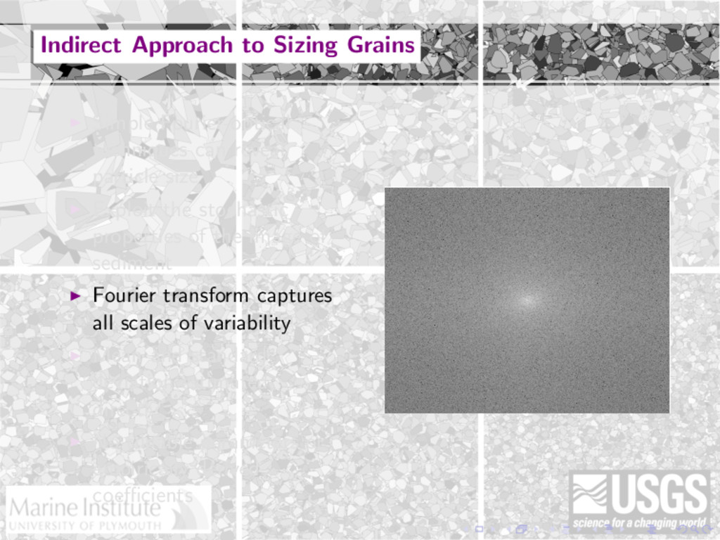 Indirect Approach to Sizing Grains Simple Fouri...